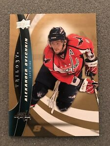 2009-10-Upper-Deck-Trilogy-Alex-Ovechkin-8-Washington-Capitals-NHL-Card