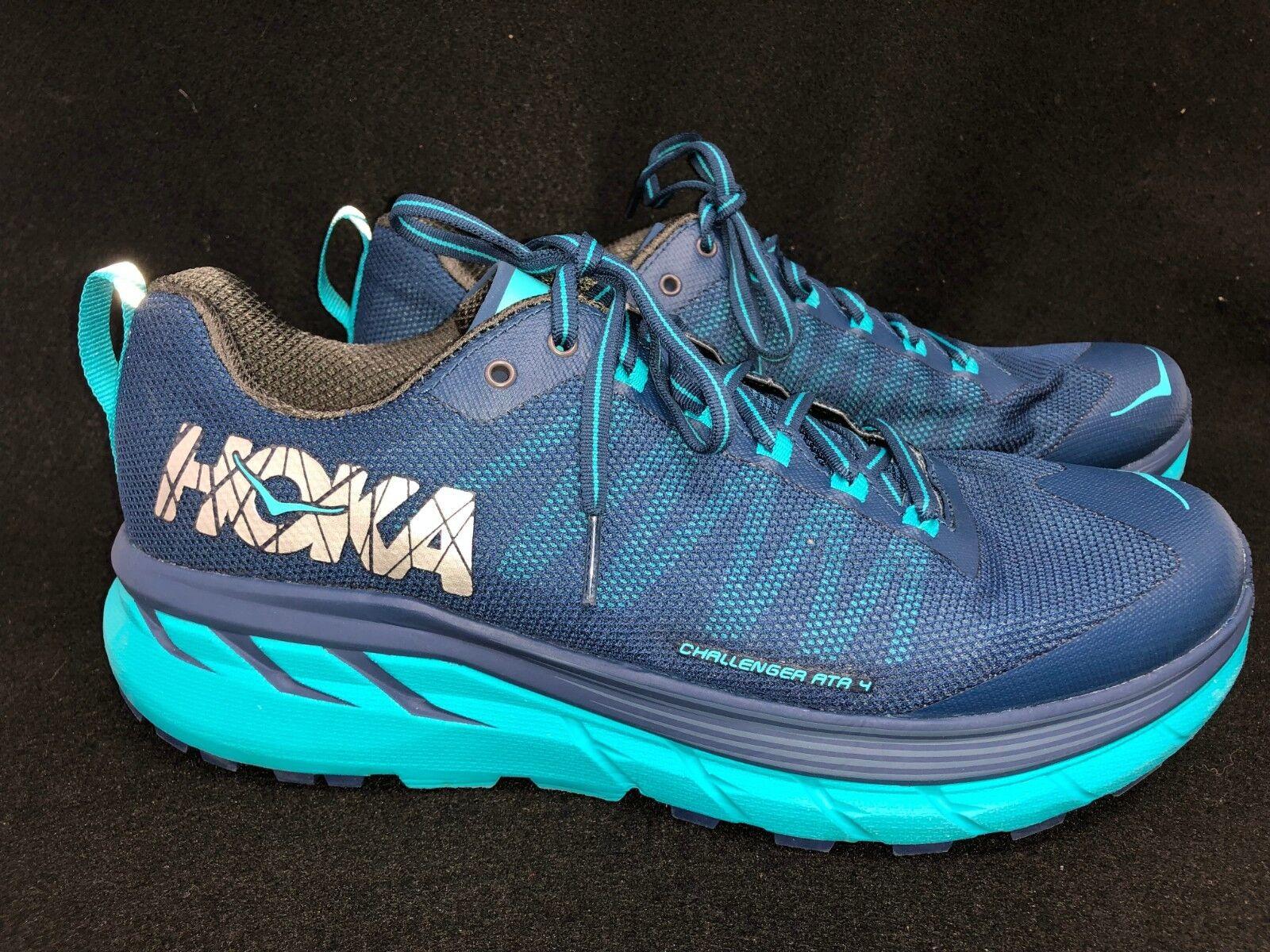 Hoka One One Challenger ATR 4 Poseidon blueebird Tennis Running shoes Athletic