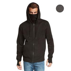Men's Fleece Full-Zip Ninja Hoodie by 9 Crowns Essentials