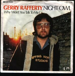 7-034-Gerry-Rafferty-Night-Owl-Why-Won-t-You-Talk-To-Me-70-s-United-Artists