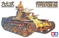 Tamiya 1:35 Wwii Japanese Medium Tank Type 97 Chi-ha Plastic Model Kit Mm175
