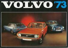 Volvo Range 144 145 164 1800 ES 1972-73 Original UK Sales Brochure No RSP/PV 710