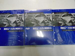 2009-Buell-1125R-1125R-Modelo-Servicio-Tienda-Reparar-Manual-Juego-W-Electrico-amp