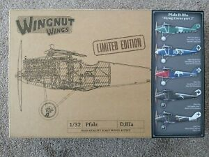 WINGNUT-WINGS-PFALZ-D-IIIA-FLYING-CIRCUS-PT-2-1-32-KIT-32910-OOP-B4-WNW-CLOSED