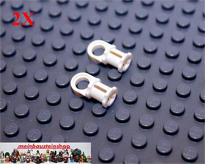 Lego Technic Technik 2 x Achs Pin Verbinder rot #44 #32126