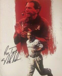 Nick Saban Autographed Signed 8x10 Photo ( Alabama Crimson Tide ) REPRINT