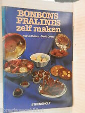 BONBONS PRALINES ZELF MAKEN Patrick Dalison David Cotrez Strengholt 1984 tedesco