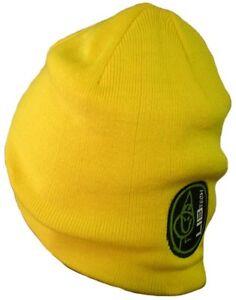 56fd5960736 LIB TECH surf skateboard snowboard LOGO CREW BEANIE yellow New With ...