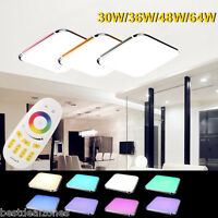 Dimmable Led Rgb Wall Ceiling Down Night Light Flush Mount Kitchen Bathroom Lamp