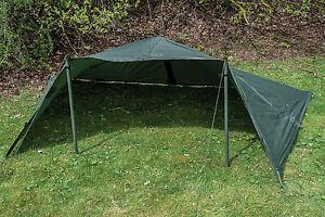 Military Army Basha Green Waterproof Sleeping Shelter Tarp Sheet Tent Camping