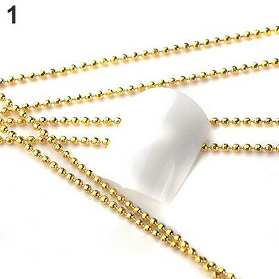 5M BEADS LINE CHAIN FOR ACRYLIC NAIL ART 3D FALSE TIPS DIY IDEAL  MANICURE