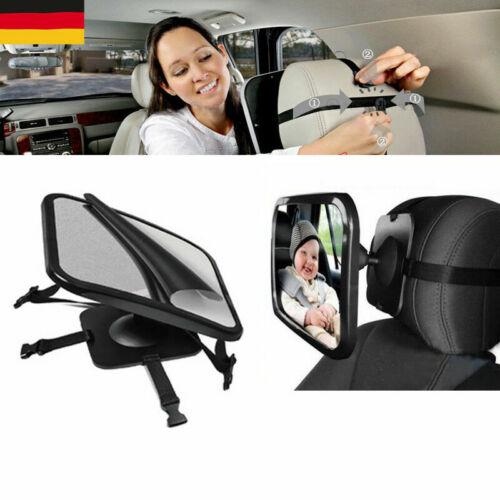 XXL Sicherheit 360° Rücksitzspiegel für Babyschale DE Stock Auto Baby Spiegel