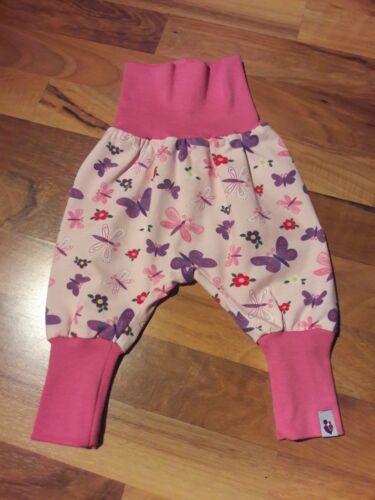 MamiAktiv 62-74 Baby Pumphose Babyhose Mitwachshose Jogginghose Jungen Mädchen