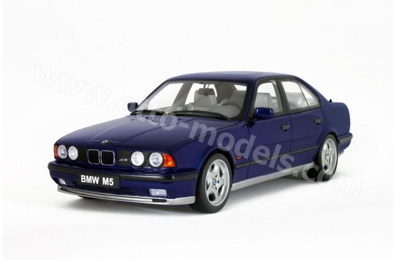 1:18 Otto BMW M5 E34 blau blu metallic Limit Edition OTTO MOBILE OT576 NEU NEW