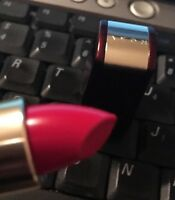 Avon Double Impact Lip Color Lipstick Red W See Picture Vintage