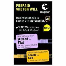Artikelbild Handy Nummer 01756 44 33 92 Congstar Prepaid Wuschmix