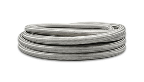 6 AN # 11926 Vibrant Performance Braided Flex Hose 20ft Roll Stainless Steel