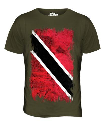 TRINIDAD AND TOBAGO GRUNGE FLAG MENS T-SHIRT TEE TOP TRINIDADIAN TOBAGONIAN GIFT