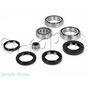 Fits-Yamaha-YFM250X-Beartracker-ATV-Bearings-amp-Seals-Kit-Rear-Differential-99-04