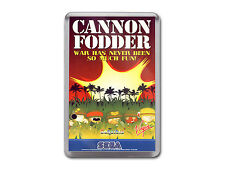 CANNON FODDER Sega Megadrive Game Cover Art Fridge Magnet