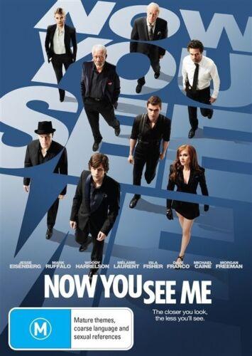 1 of 1 - Now You See Me (DVD, 2013) Mark Ruffalo, Woody Harrelson, Isla Fisher