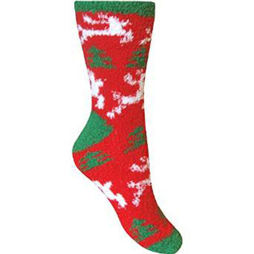 Womens Co-Zees Christmas Bedsocks Thermal Socks 1 Pair or Multipack  Size 4-7UK