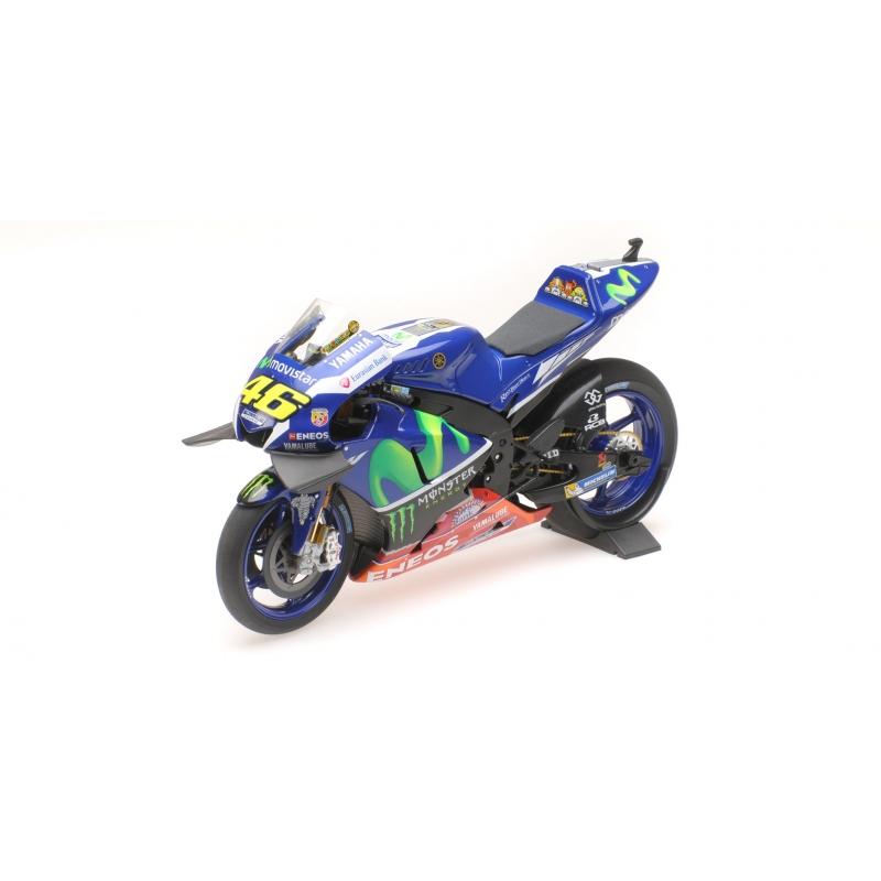 Minichamps 122 163346 Yamaha YZR-M1 Valentino Rossi LIBRE pratique Sepang 2016