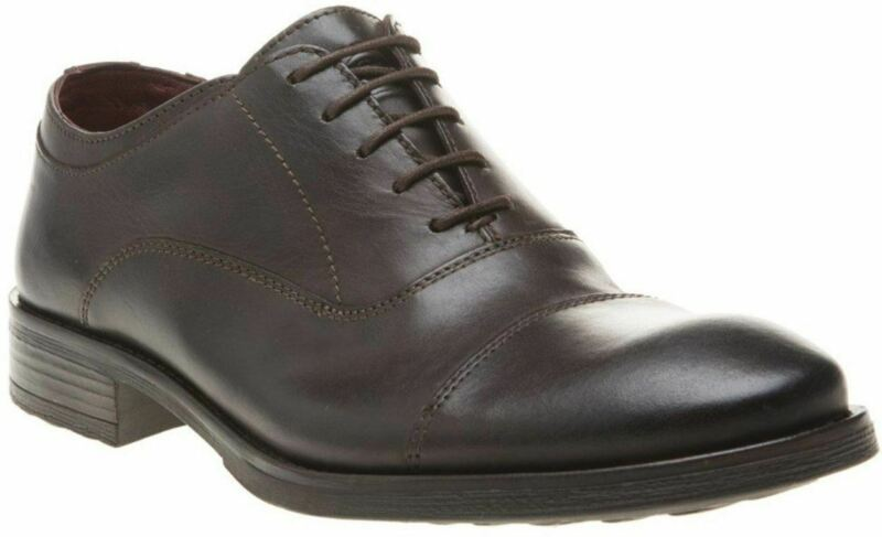 Base London Beckett Braun Herrens Leder Schuhe