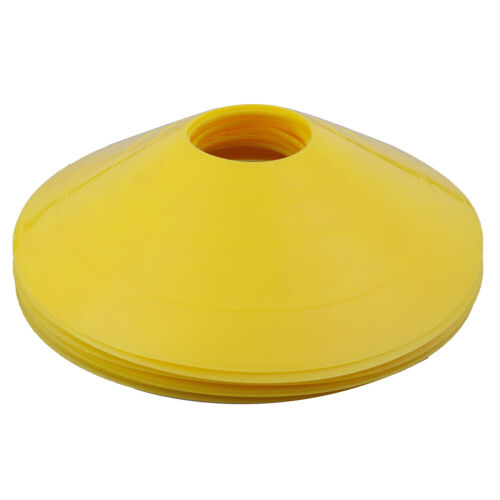 10pcs//set  Soccer Discs Bucket Marker Training Sign Flat Cones Marker Disc JCRLO