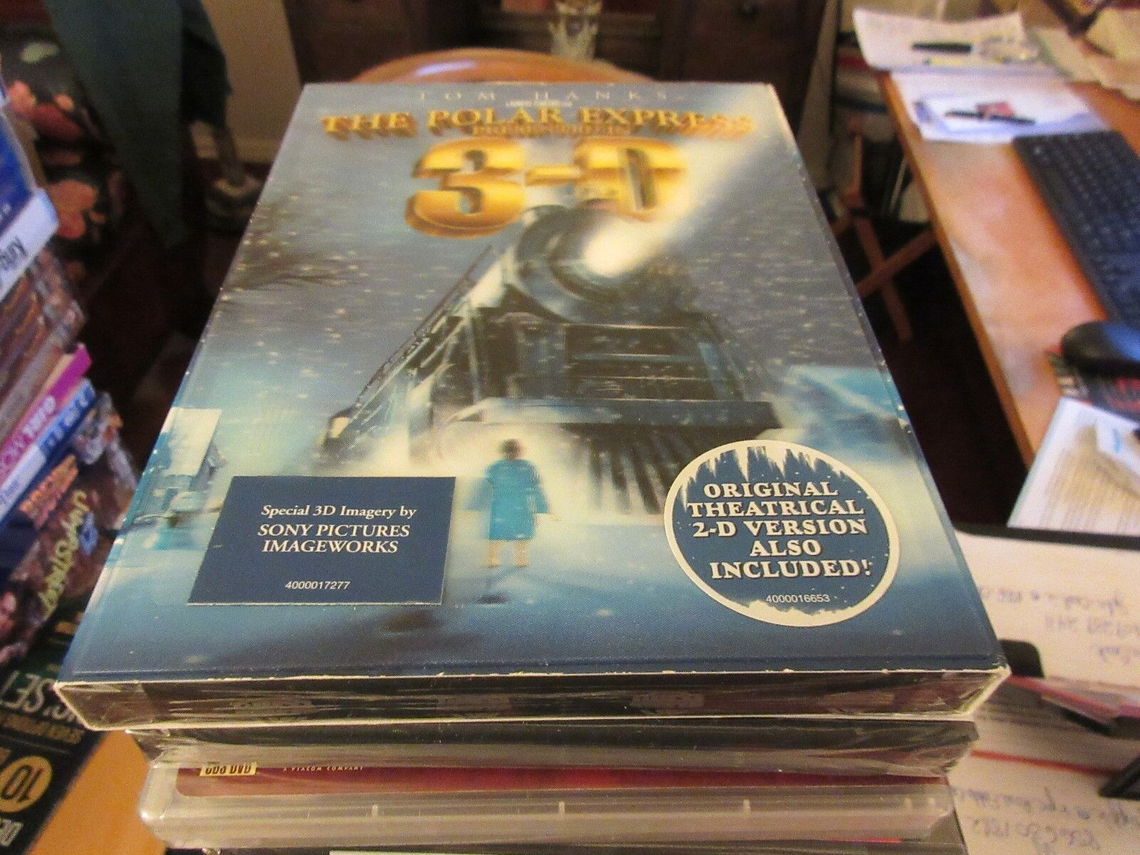 The Polar Express Presented In 3-D , DVD