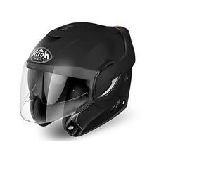 CASCO-AIROH-REV-MODULARE-NERO-OPACO-RE11-MATT-BLACK-TAGLIA-XL