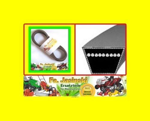 COURROIE trapézoïdale pour Al-KO t13-85 Lux HVC 514083 tondeuse