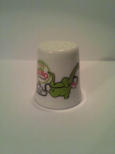 Up4Bid Dino Sinclair Gasoline Collectible Porcelain Thimble