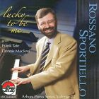 Lucky to Be Me by Rossano Sportiello/The Rossano Sportiello Trio (CD, Oct-2010, Arbors)