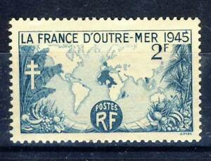 TIMBRE-FRANCE-NEUF-N-741-LA-FRANCE-D-039-OUTREMER