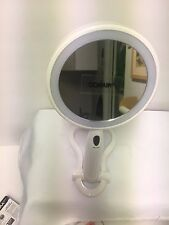 CONAIR REFLECT Urban Double Sided LED Lighted Mirror,  White 3x/1x Magnification