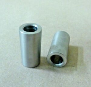 """1//2/"""" ID X 7//8/"""" OD X 7//8/"""" TALL STAINLESS STEEL STANDOFF BUSHING 2Pc SPACER"""