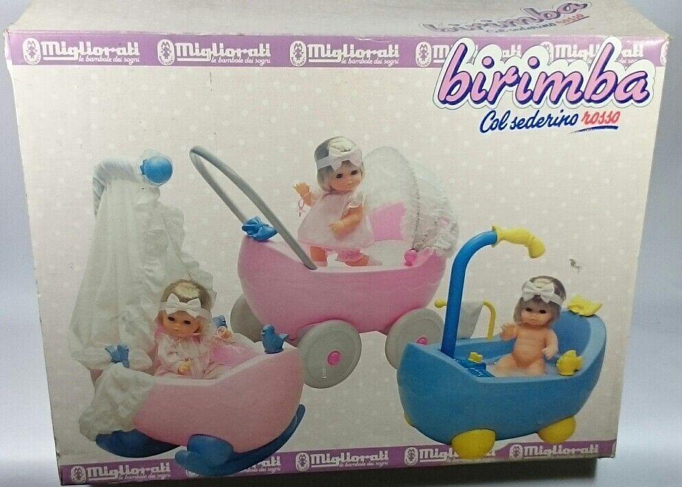 all'ingrosso a buon mercato MIGLIORATI la bambola dei sogni, anni 70, BIRIMBA BIRIMBA BIRIMBA culla,Da collezione  servizio onesto