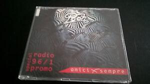 POOH Amici X per sempre PROMO cd 96/1 + saluti audio Roby Dodi Red Stefano NM