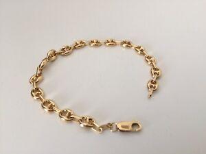 Women S 18k Gold Bracelet Gucci Puffed