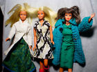 Vintage Barbie Dolls Dressed in 60's Rare Fashionable Clothing