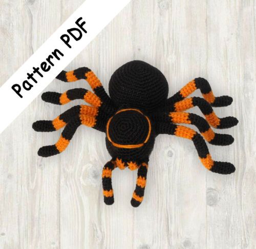 Read Description Crochet Spider Halloween Pattern PDF