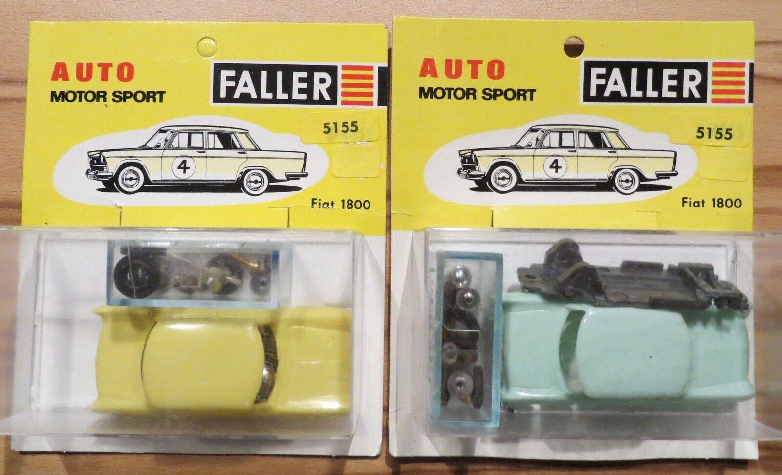 FALLER AMS 5155 2x FIAT 1800 Kit Construcción