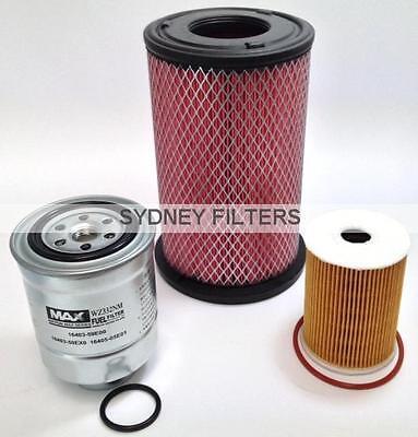 Oil Filter fits Nissan Navara D22 4cyl ZD30DDT 3.0L 2001-2007