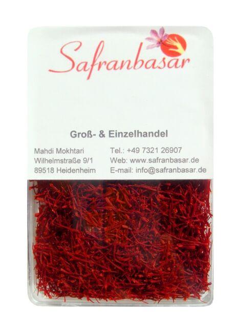 Safran NE-GIN PREMIUM-QUALITÄT Safranfäden Saffron Geschenkidee neue Ernte