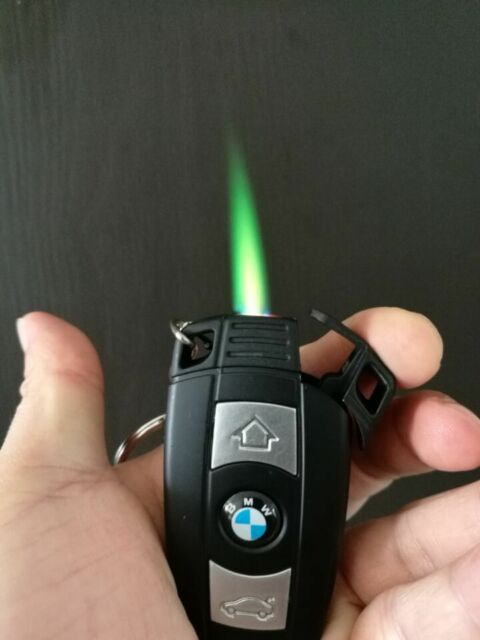 1PC Car Key Windproof Butane Lighter Jet Torch Flame Cool Free Shipping