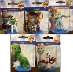 Disney-Pixar-Toy-Story-4-Mini-Action-Figures-Mattel-Buzz-Lightyear-Woody