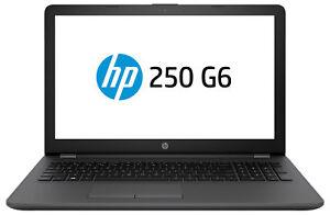 """HP 250 G6 15.6"""" (500GB,Intel Celeron,1.6GHz,4GB) Laptop - Black - 2FG06PA"""