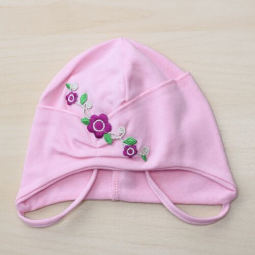 Cotton Baby GIRL Hat Autumn // Spring Cap approx SIZE 40-42cm 0-6 mths KIDS
