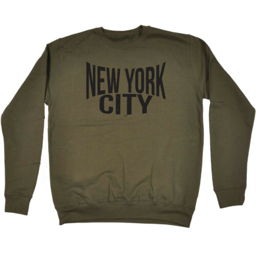 New York City Funny Novelty Sweatshirt Jumper Top